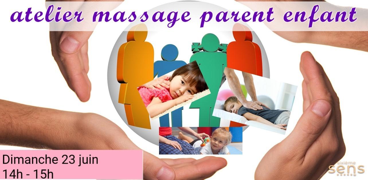 Echanges Massage  Parent-Enfant